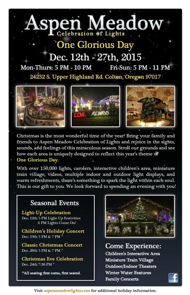 Aspen Meadow Celebration of Lights