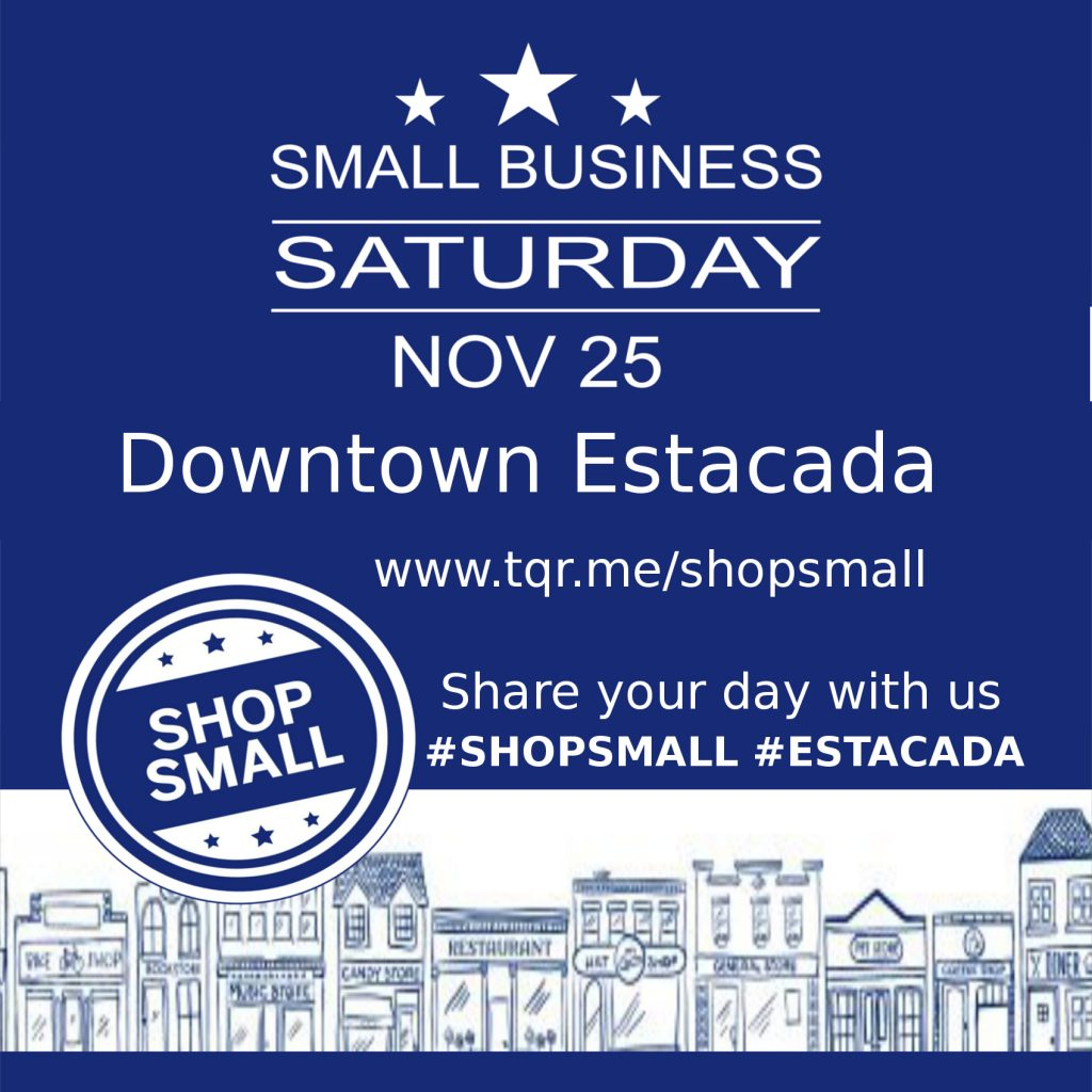 Estacada Shop Small Saturday 2017